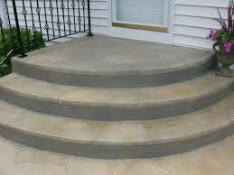 Small Patio Pavers Ideas by Rounded Paver Steps Rounded Concrete Steps Jpg Step Stuff