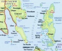 san jose dinagat island map monday 12 sep 2011 texan in the philippines