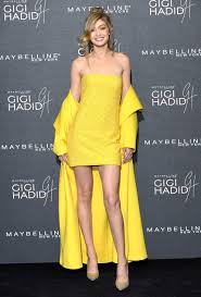 What Is The Hottest Color Monochrome Yellow Fashion Trend Gigi Hadid More