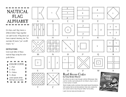 nautical flags coloring sheet lsi summer camp pinterest