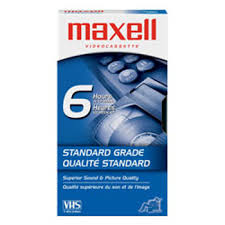 maxell cassette maxell cassette t 120 214016 cassette vid礬o specifications