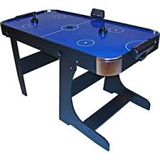 Gamesson L Foot Foldable Air Hockey Table Blue 5 Feet Amazon Co