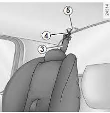 siege auto isofix renault renault modus choix de la fixation du siège enfant sécurité