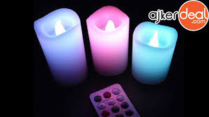 electric mini led candle light for home decor ajkerdeal youtube