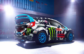 hoonigan cars ken block u0027s 2014 ford fiesta racecar by hoonigan racing