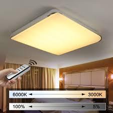 Lampen F Wohnzimmer Led Natsen Moderne Led Deckenlampe Wohnzimmer Lampe I505y 50w Voll