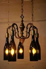 Wine Bottle Chandeliers Chandelier Wine Bottle Chandelier Kit Modern Chandeliers Wagon