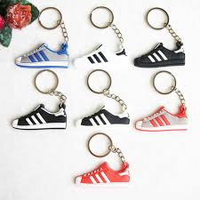 aliexpress key rings images Silicone jordan shoes superstars keychain key chain sneaker car jpg