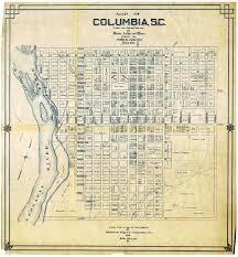 map of columbia south carolina diary of orrin brown feb 15 1865 jc shepard dot