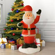 6 ft airblown santa claus decoration