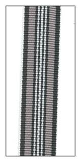 striped grosgrain ribbon the ribbon jar product 16550 shades of gray striped grosgrain