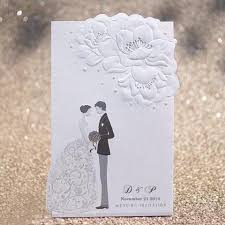 Bride To Groom Wedding Card Black U0026 White Embossed Bride Groom Wedding Invitations Itsinvitation