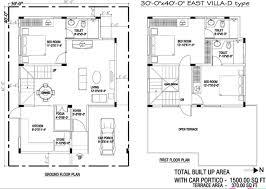 1500 sq ft 3 bhk 3t villa for sale in m1 properties brick field