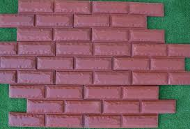 6pcs lot 36 bricks veneer molds artificial texture wall brick