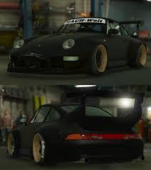 porsche rwb 1995 porsche 911 gt2 993 rauh welt begriff rwb gta5 mods com