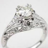 Vintage Style Wedding Rings by Vintage Style Wedding Ring Justsingit Com
