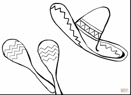 wonderful mexican coloring pages alphabrainsz net