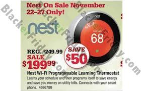 nest thermostat black friday 2017 sale deals after