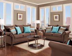 Fabric Living Room Furniture Jitterbug Cocoa Sofa And Loveseat Fabric Living Room Sets