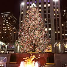 rockefeller center christmas tree lighting ceremony pictures