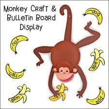 Monkey Paper Plate Craft - monkey paper plate craft and bulletin board display monkey