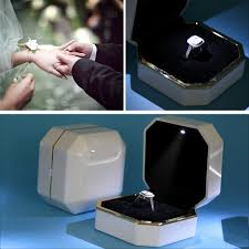 engagement ring boxes that light up proposal ring box lovely fresh rings in a box document
