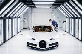 bugatti jet bugatti starts chiron production in its molsheim factory wired