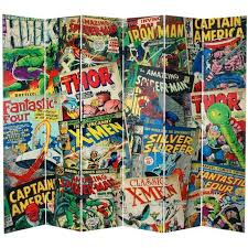 Room Dividers For Kids - your kid will love you if you get him this 7 foot marvel comic