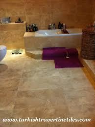 Kitchen Backsplash Travertine Tiles Create Ambience Your Desire With Travertine Tile Bathroom