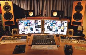 Studio Production Desk by Production Team Behind Defamation Of Strickland Banks Install X