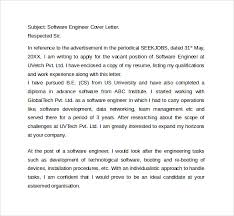 7 it cover letter templates free sample example format