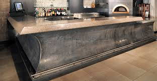 concrete top bar table award winning concrete bar cheng concrete exchange