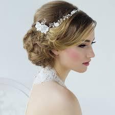 wedding hair accessories uk floral bridal headpiece annaleise zaphira bridal
