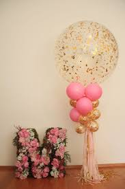 30th birthday flowers and balloons 1st birthday floral letter balloons pink and gold ttt
