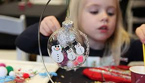 ornament decorating workshop at tenaya lodge oakhurst area