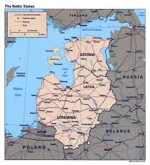 Baltic Sea Map Maps Of Baltic And Scandinavia Detailed Political Relief Road