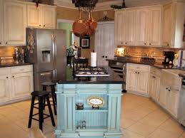 kitchen island with hanging pot rack gripping country kitchen island stools nearby waterfall