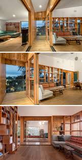 steep hillside house plans this hillside house in los angeles was built around a tree