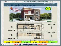 modular home all american homes urban home park manor single
