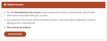 how do i delete my code account code
