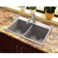 brown kitchen sinks granite kitchen sinks you ll love wayfair
