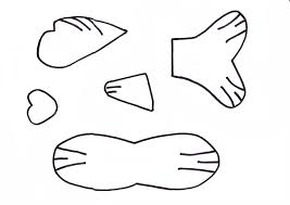 100 fish cut out template fish craft template rainbow fish