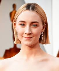 pics of new short bob haircuts on jordan dunn and lilly collins saoirse ronan rocks a short bob haircut at the oscars