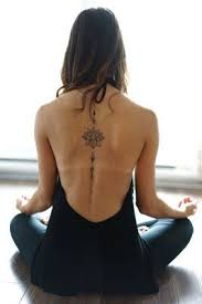 Back Tattoos - best 25 spine tattoos ideas on spine