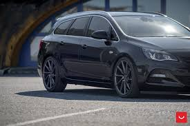 opel japan opel astra j wagon doubles its value with vossen cvt wheels