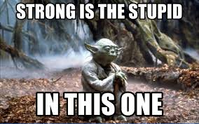 Meme Generator Yoda - strong is the stupid in this one yoda pizza meme generator