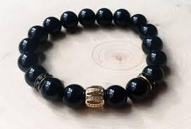 onyx bead bracelet images Men 39 s onyx bead bracelet men 39 s black bead bracelet black men 39 s jpg