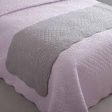 jeté de canapé en couvre lits jetés de lit violet 3suisses