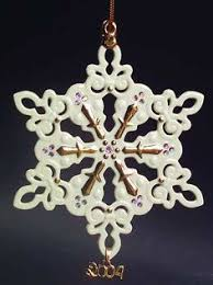 2017 lenox snow fantasies snowflake ornament 22nd in series
