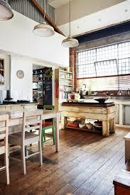kitchen unusual small attic ideas industrial loft kitchen small